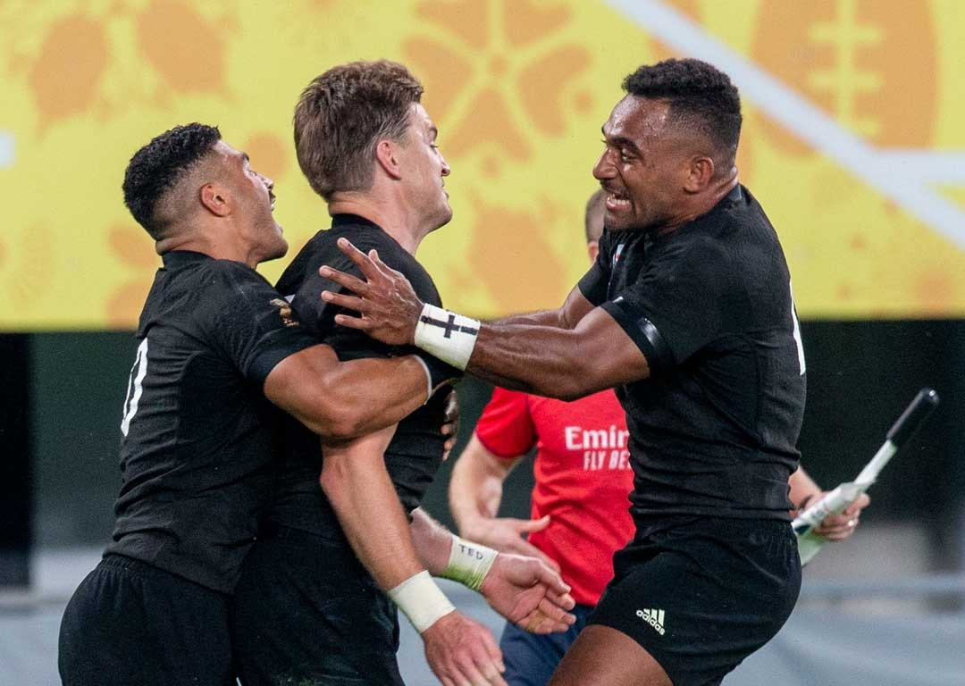 Never done before: Barrett's surprise World Cup record in All Blacks' win