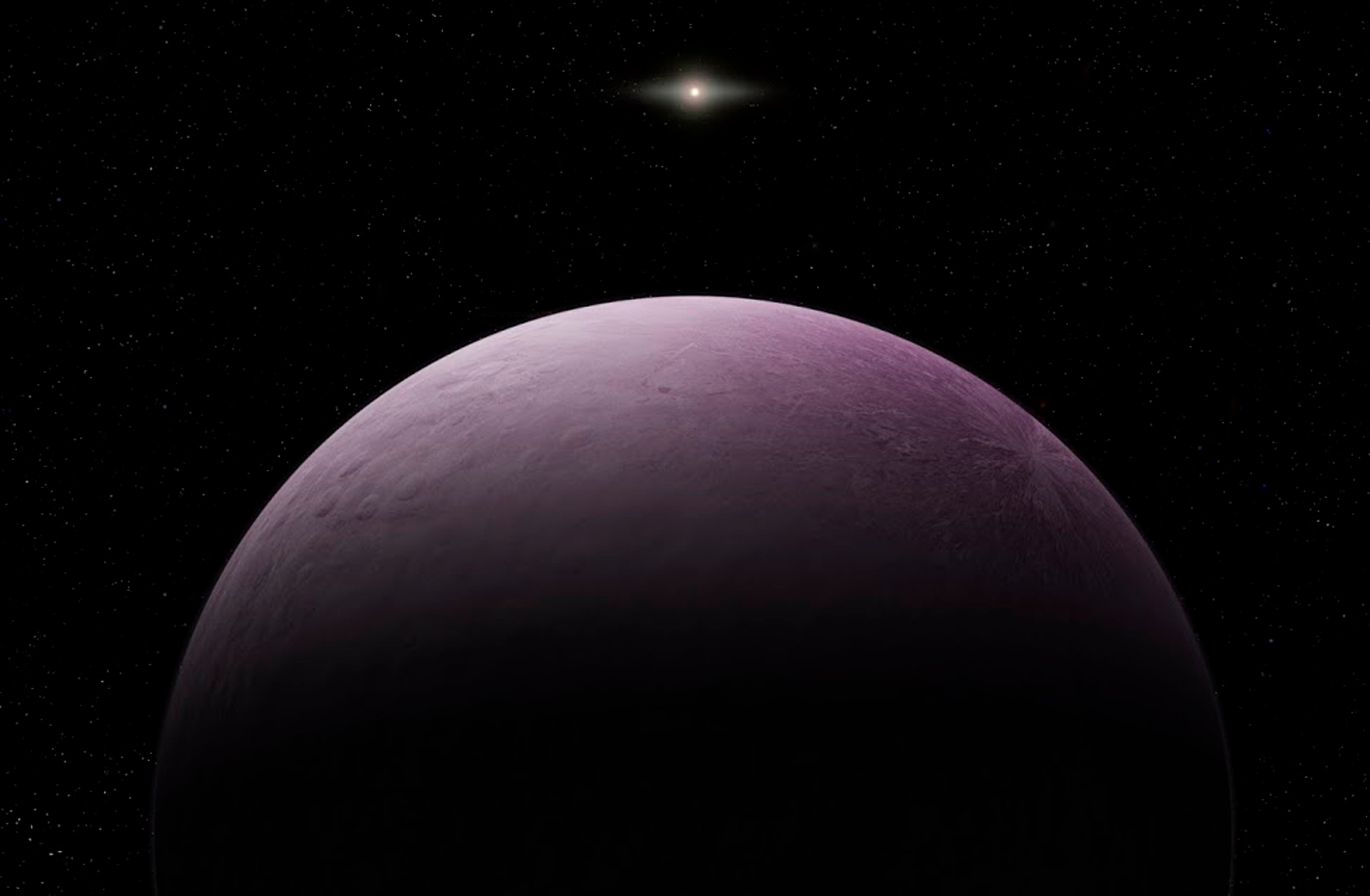 6af045caab Far-out! Astronomers find the farthest known object in the solar system and  it s pink