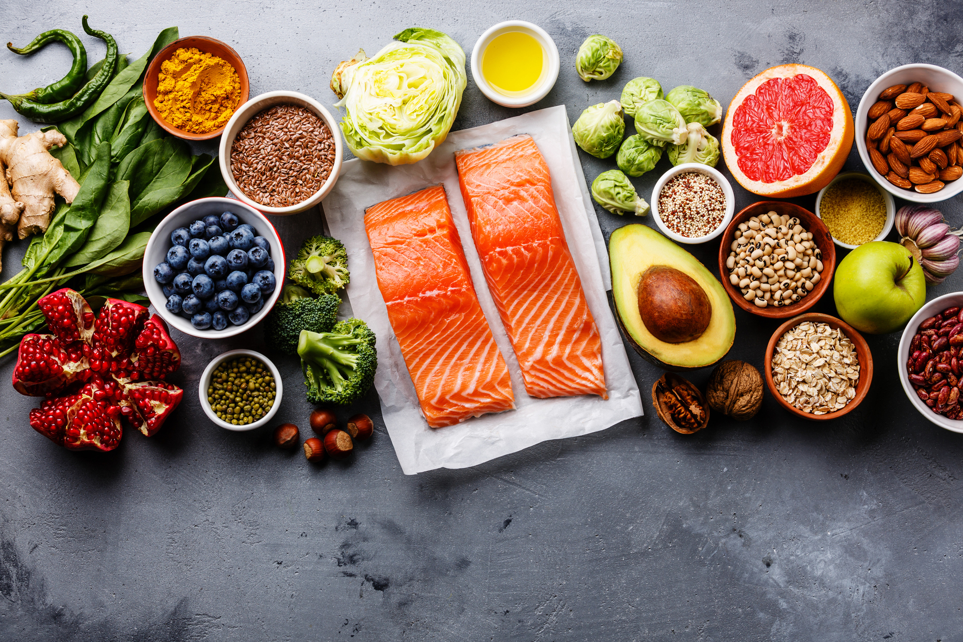 How to eat healthily in every decade of your life