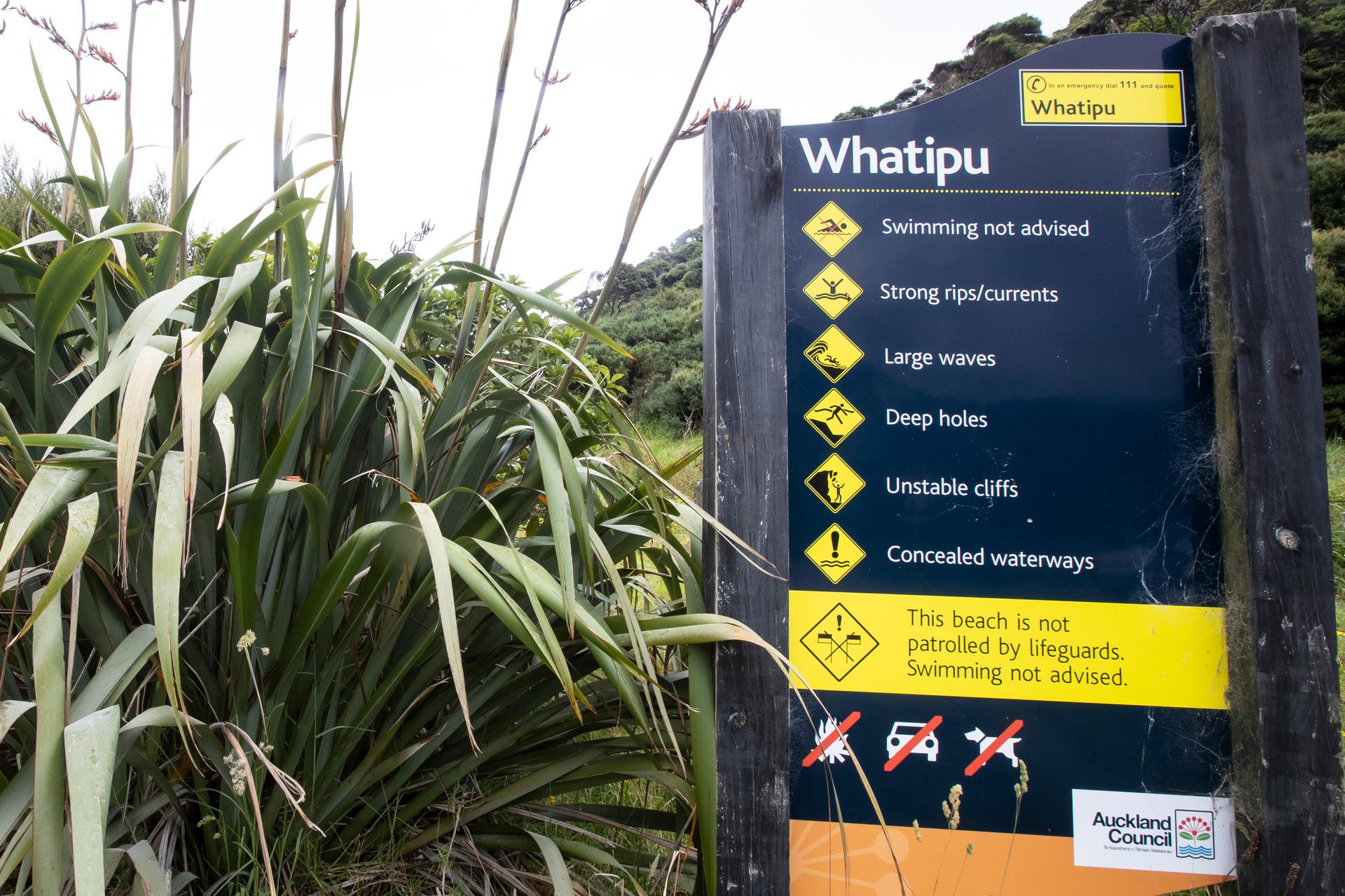 Fisherman swept off rocks at Whatipu Beach presumed dead