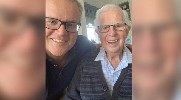 'Love you Dad': Scott Morrison's shock loss