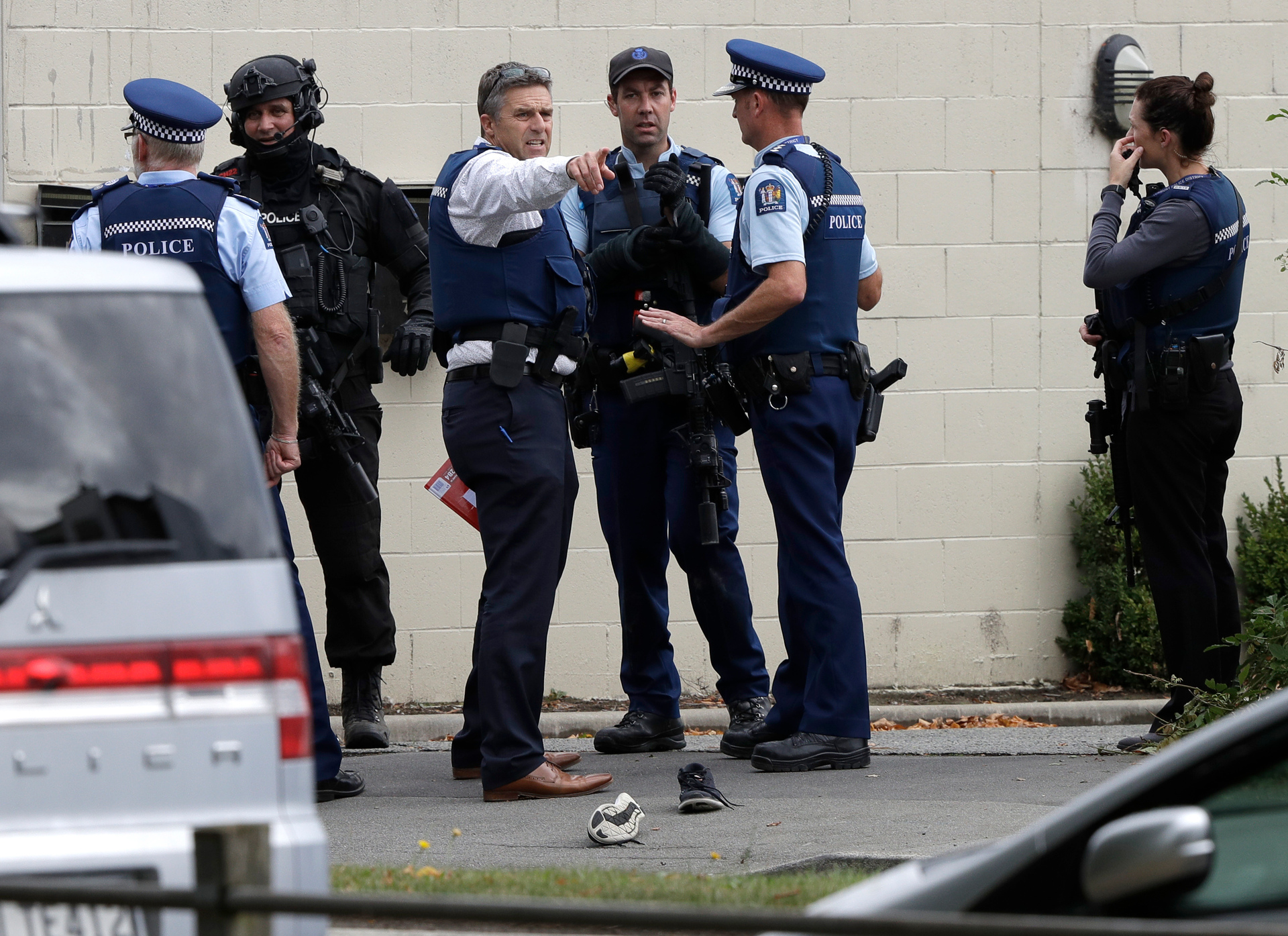 Mosque shooting: 'Don't watch the gunman's video' - clinical