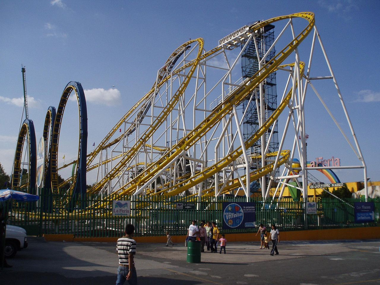 Two killed as roller coaster derails in Mexico City