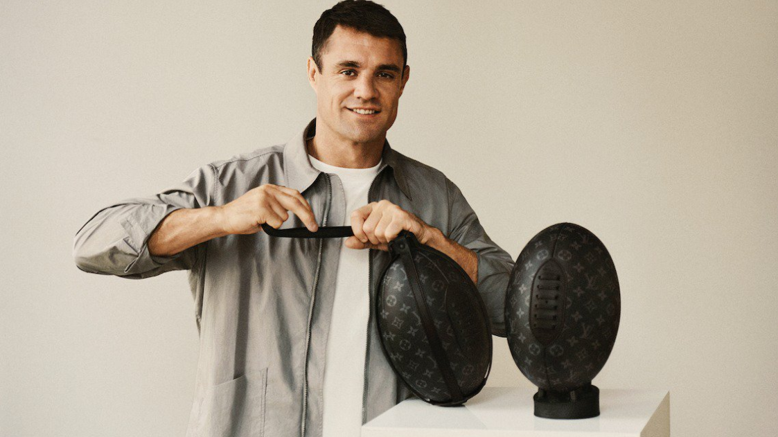 'Rubbish': Dan Carter's Louis Vuitton rugby ball bag ridiculed