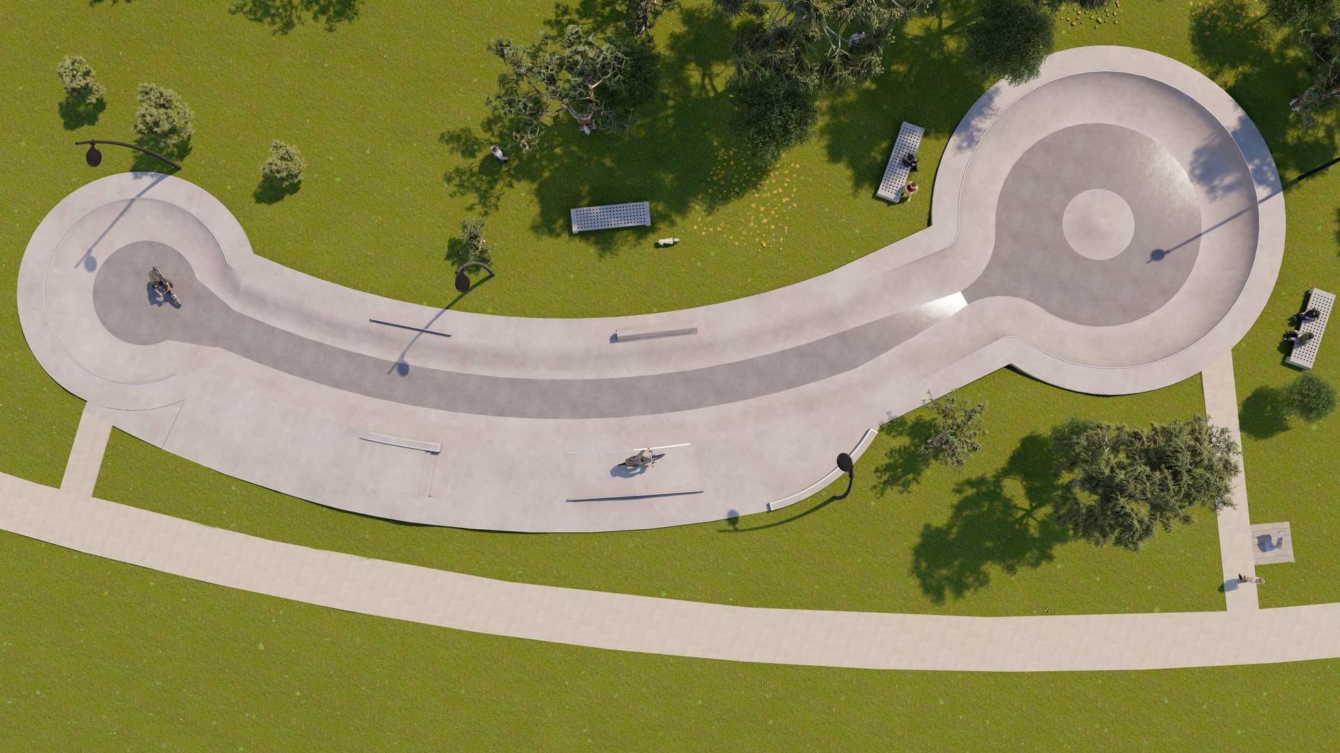 Aussie council mocked for X-rated skate park design