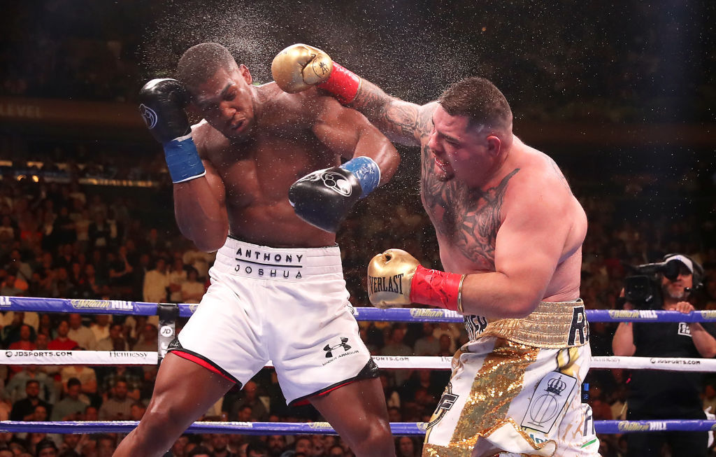 Live: Joshua v Ruiz - The re-match