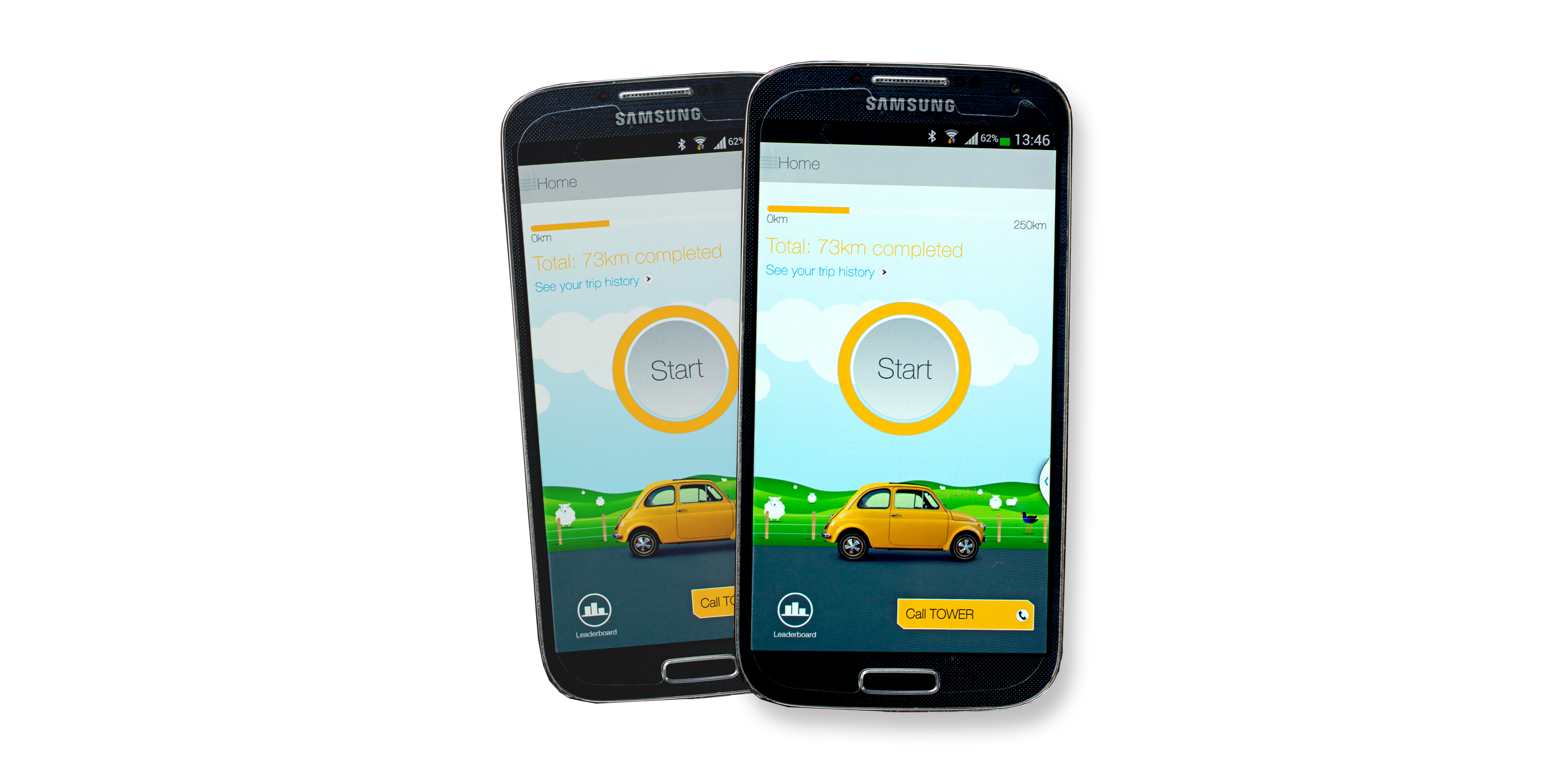 Driving app helps earn discounted insurance