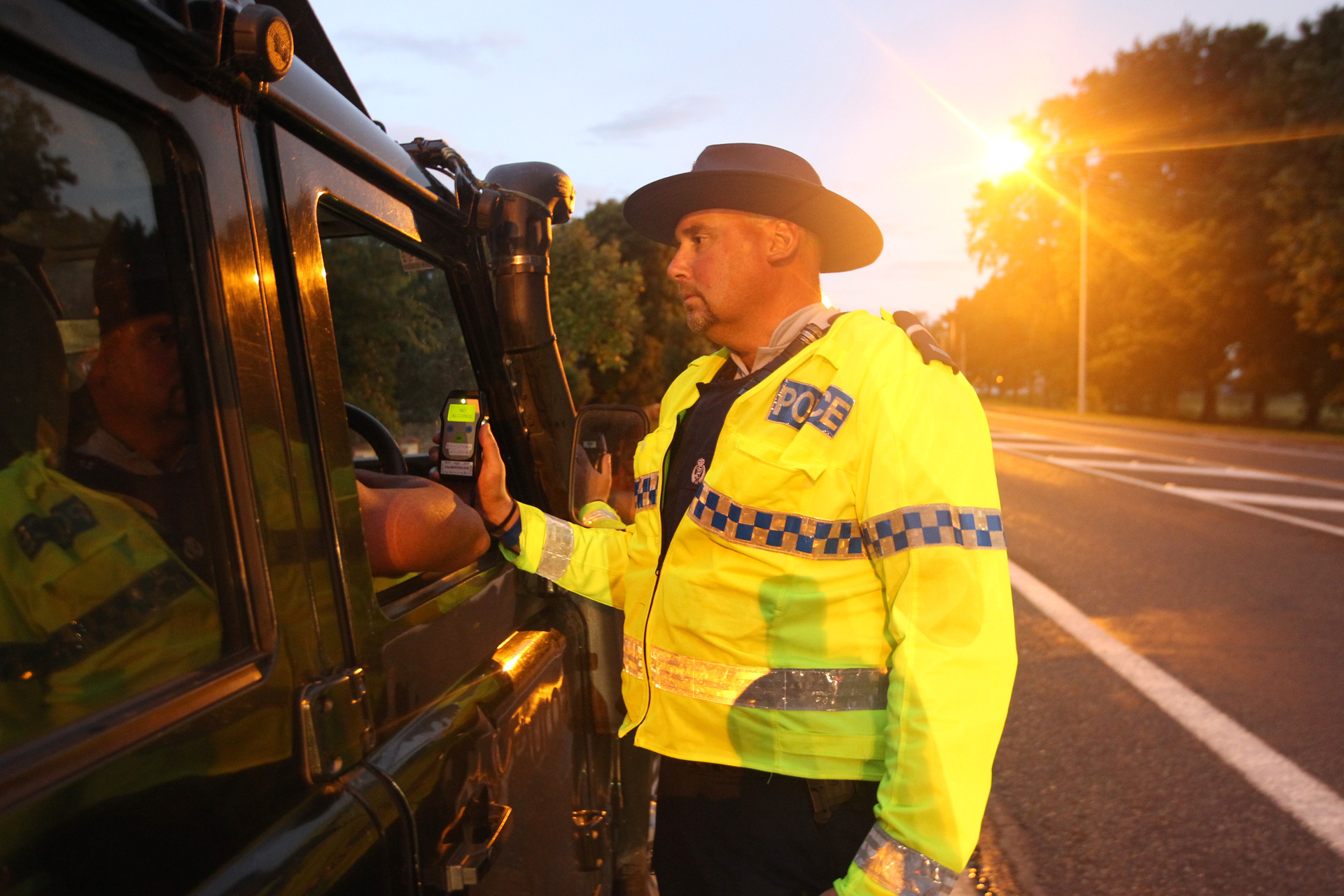 Drink driver's stunning response to police question