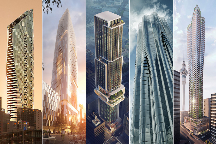 World-class architects face off for Auckland high-rise