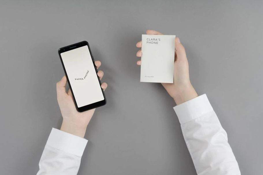 Google's newest phone is literally just a piece of paper
