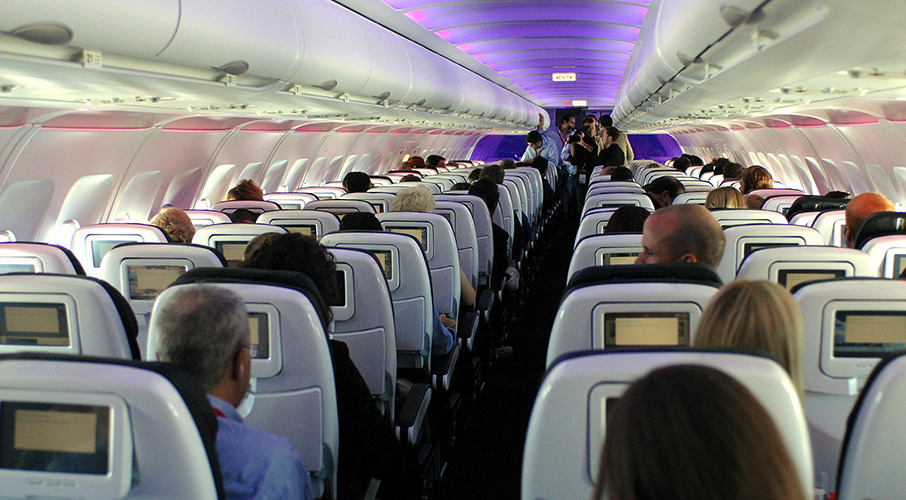 Passengers mortified by woman's 'disgusting' habit on plane