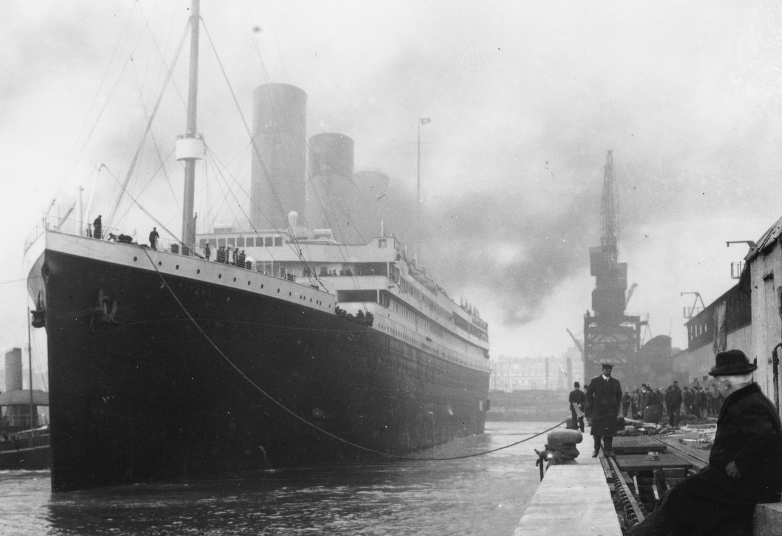 Letter reveals eerie final moments on Titanic