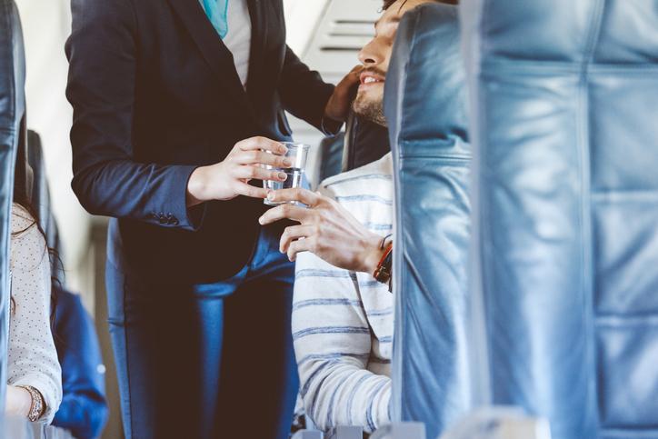 What flight attendants avoid on planes