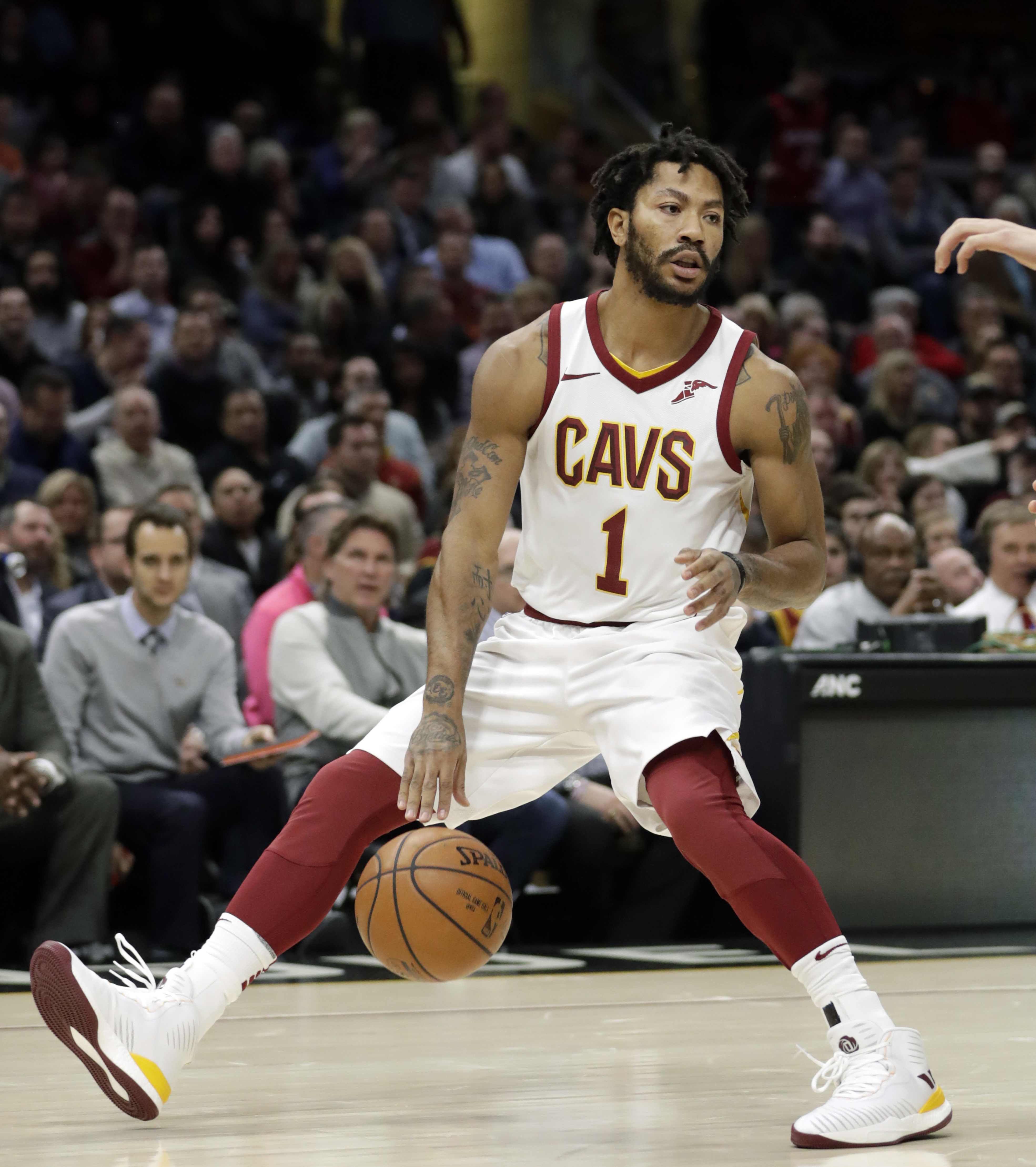 637e0ed993b Basketball  Utah Jazz waive Derrick Rose after Cleveland Cavaliers trade