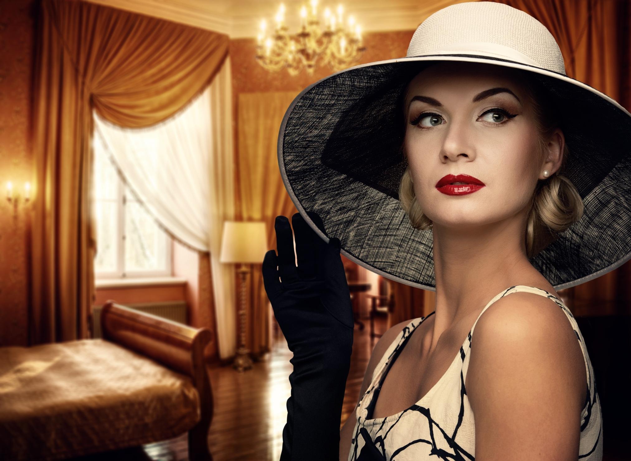 beautiful wealthy women