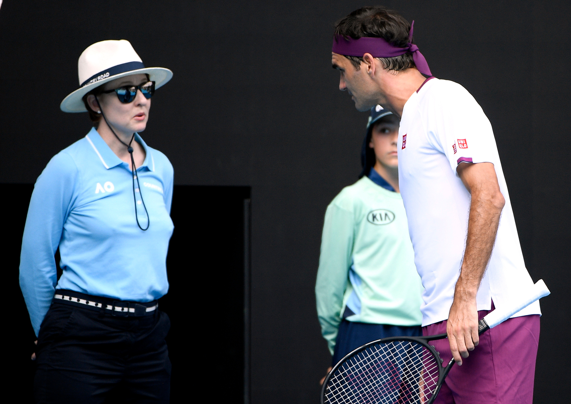 'Clearly she speaks mixed': Federer stunned after blow up