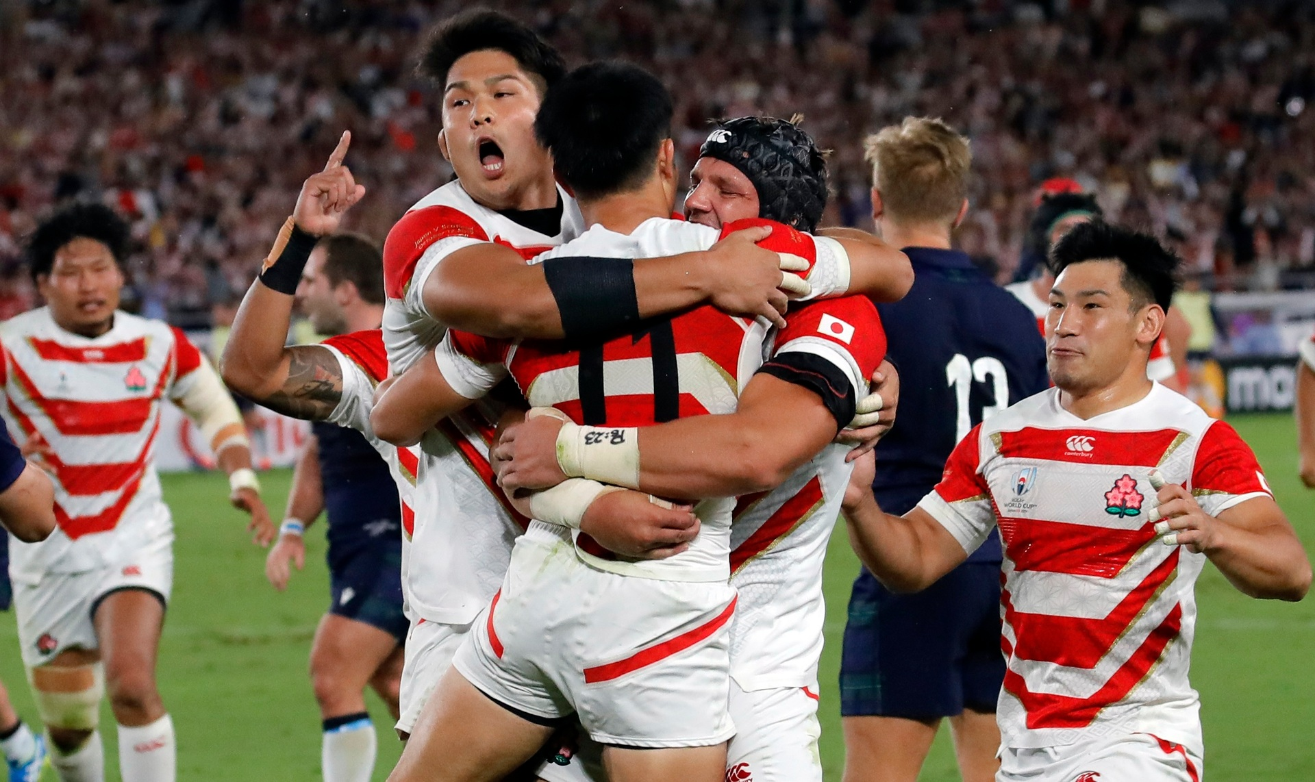 'Beat NZ? I can't see it': World media react to ABs v Ireland, Japan win