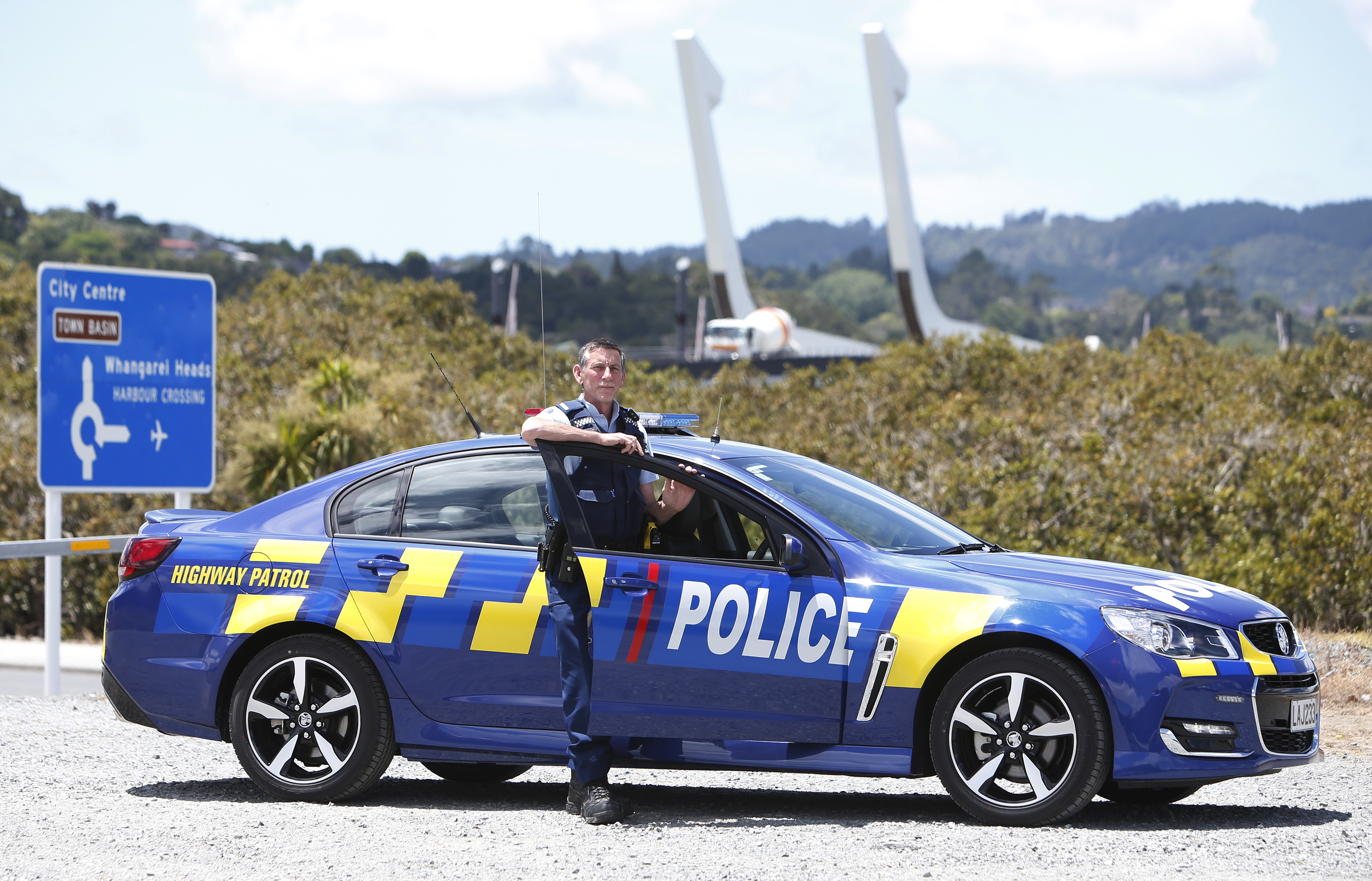 Northland cops get new blue patrol cars in time for summer