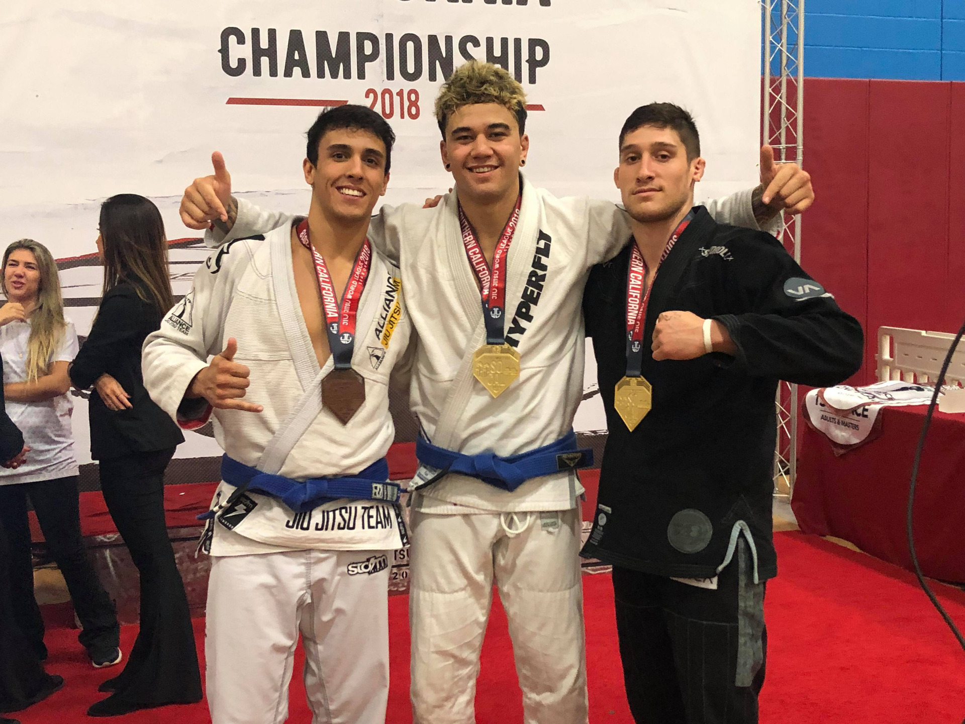 Levin's Karlo Witana wins gold at Brazilian Jiu Jitsu World