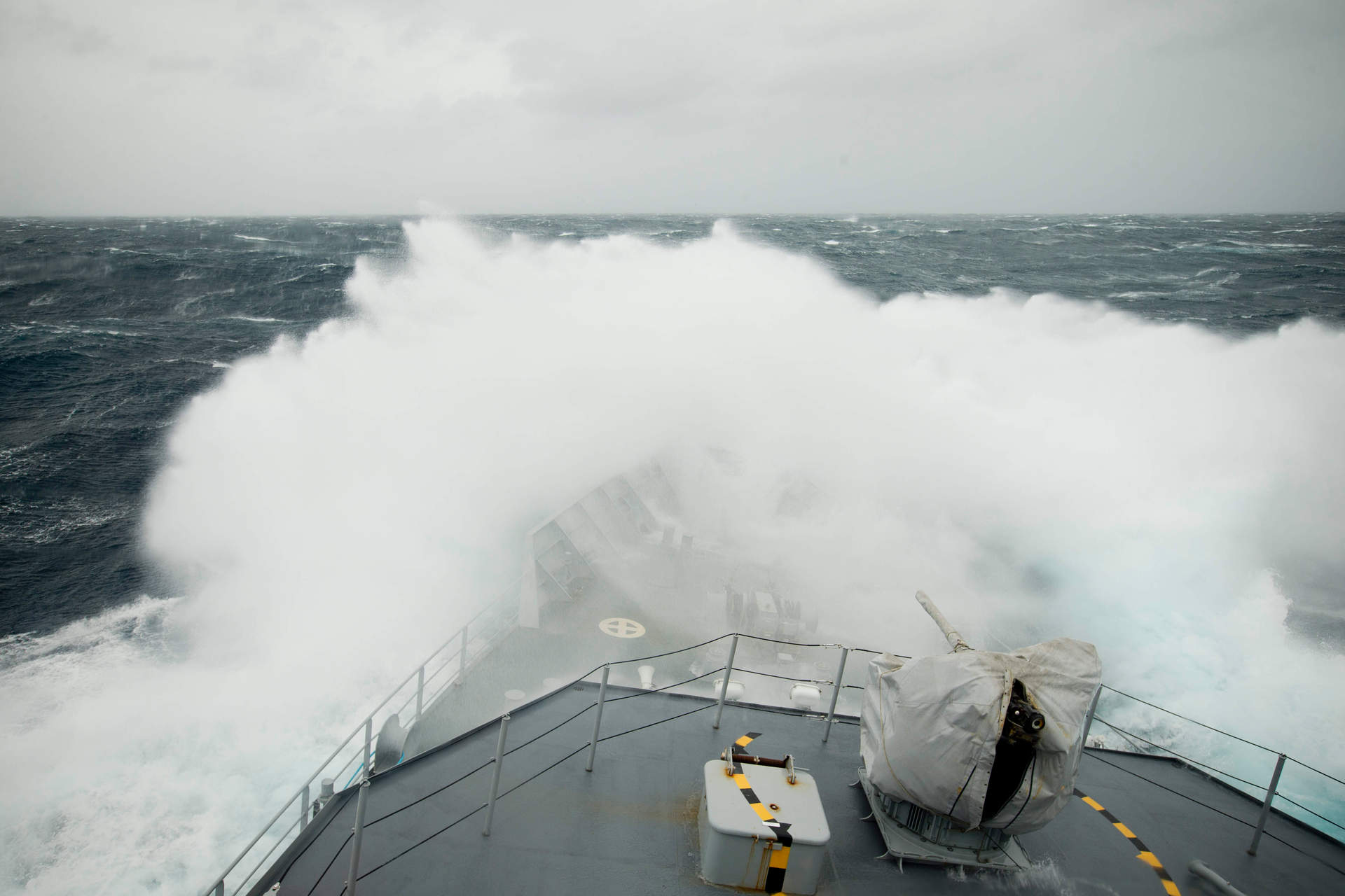 Editorial: Giant waves should shift our apathy over climate