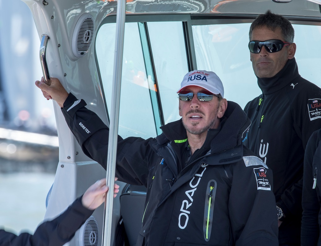 America's Cup: Russell Coutts, Larry Ellison announce Grand Prix of Sailing to rival Auckland 2021