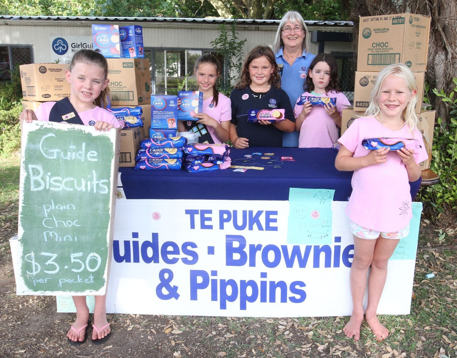 End of an era: Girl Guide biscuits go on sale for the last time in New Zealand