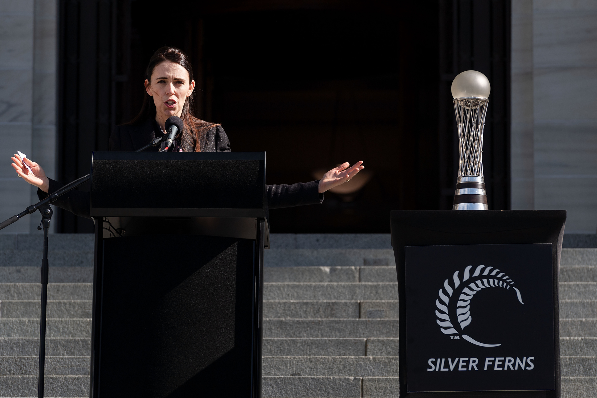 'You're incredible!' – PM's welcome to champion Silver Ferns