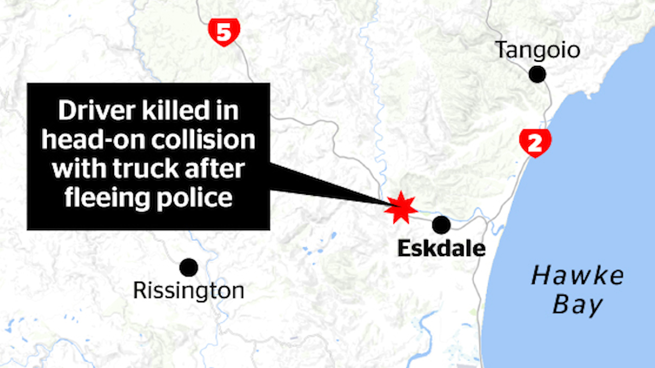 Fatal crash in Eskdale