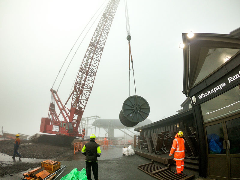Last two towers installed for Mt Ruapehu's new gondola