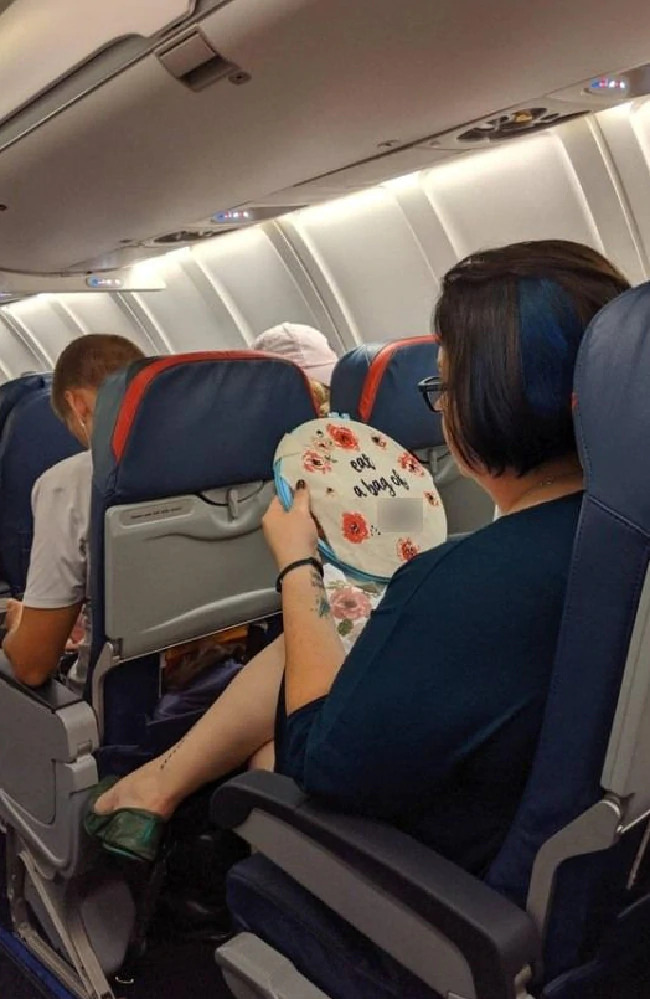 Passenger's X-rated message goes viral