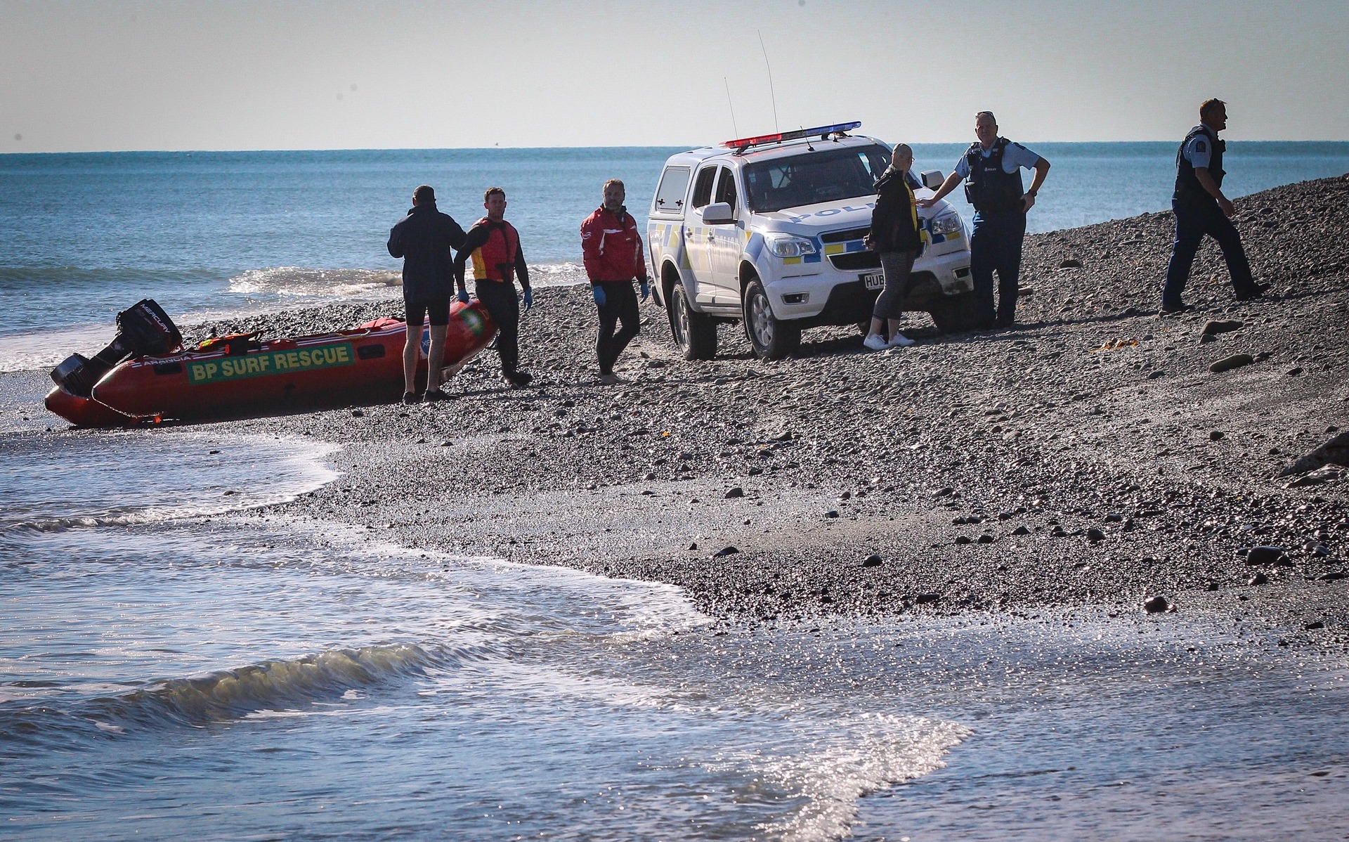 Body found on Hawke's Bay beach near where teams have been searching for 75-year-old missing fisherman