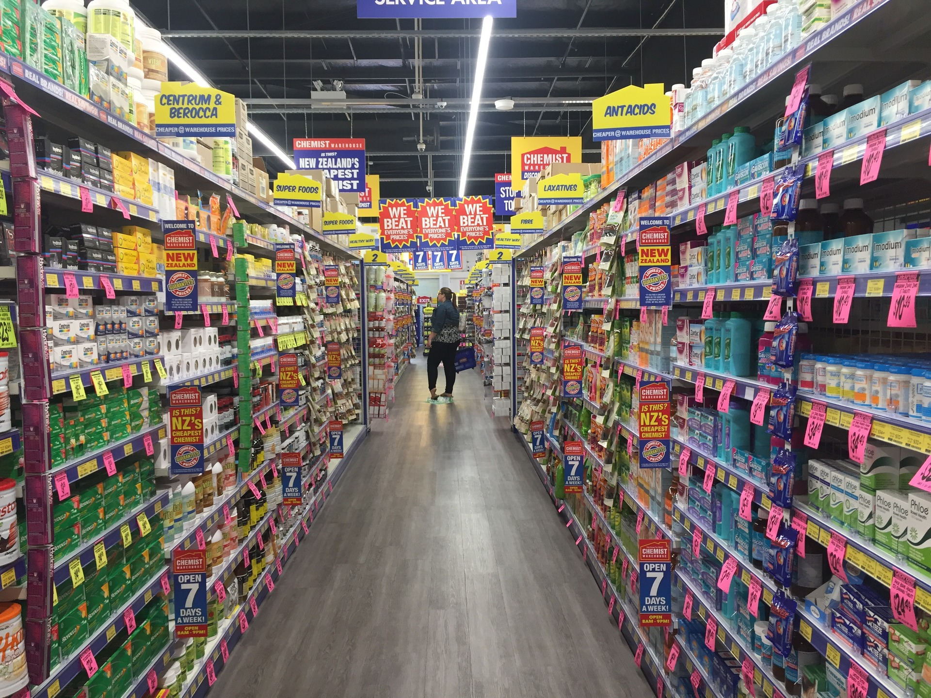 Chemist Warehouse shakes sector, eating into smaller