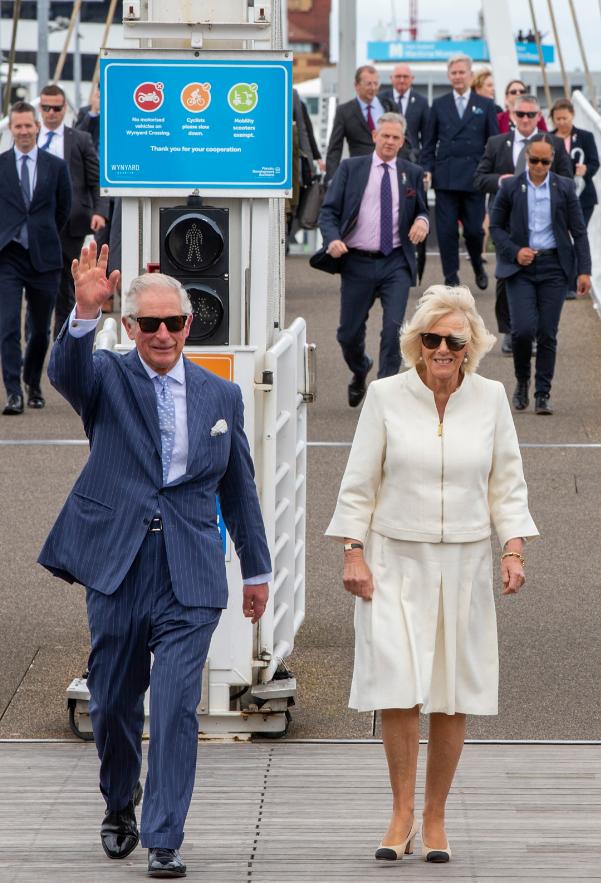 Royal visit: Charles and Camilla visit Waitangi Treaty Grounds
