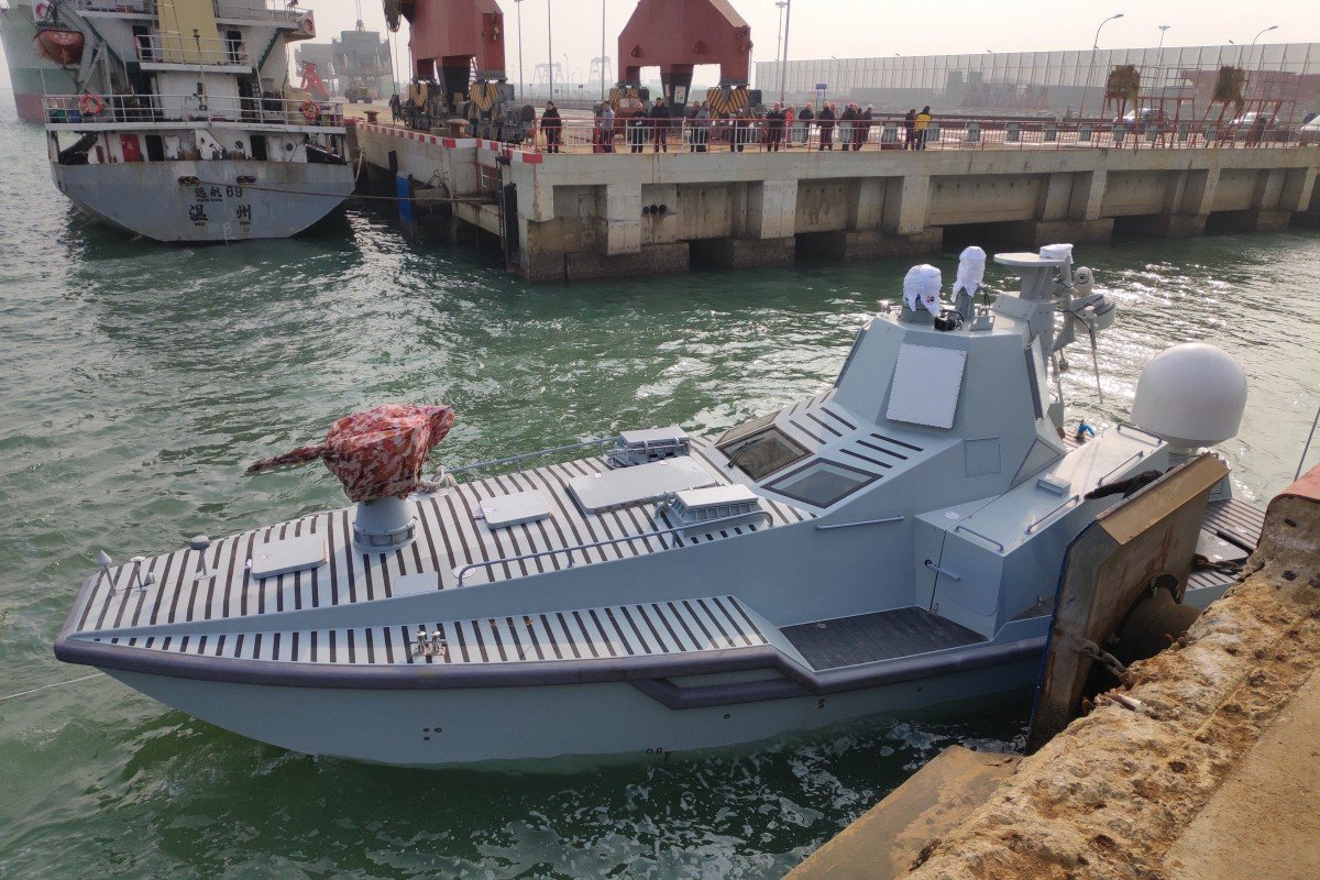 'Wolf pack attack': China launches new killer robot ship