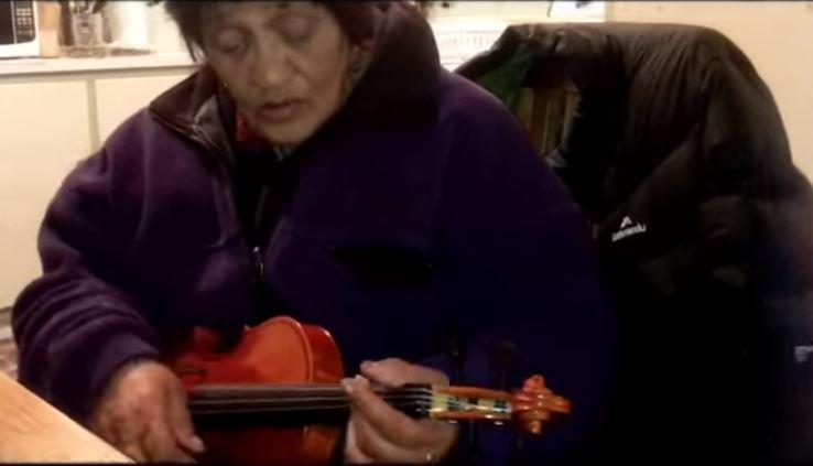 Flaxmere nan playing 'violele' goes viral