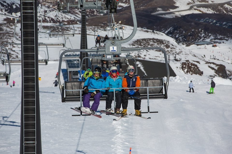 Skiers rejoice - Ruapehu chairlift back in action