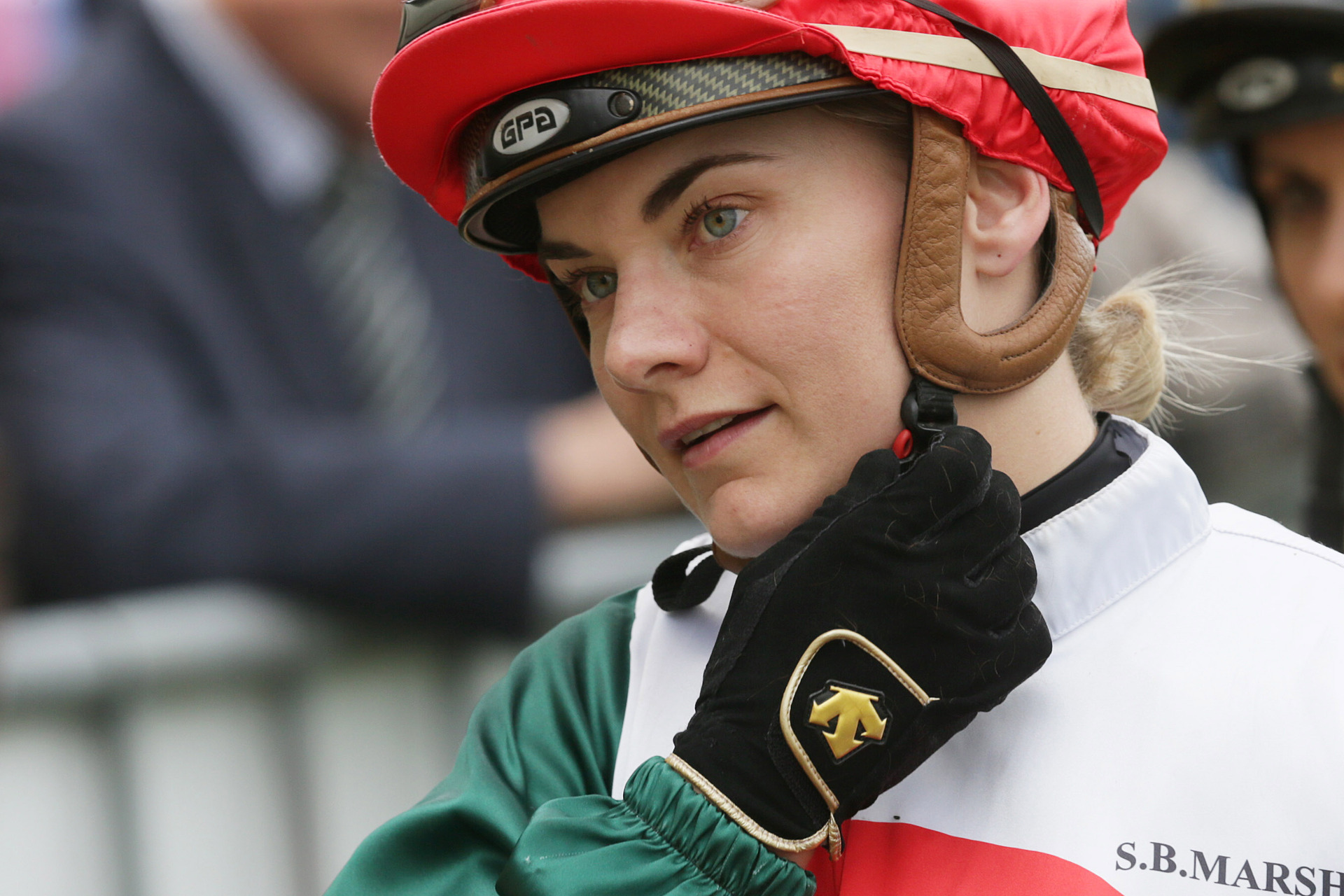 Racing: Danielle Johnson keen to get back in the saddle