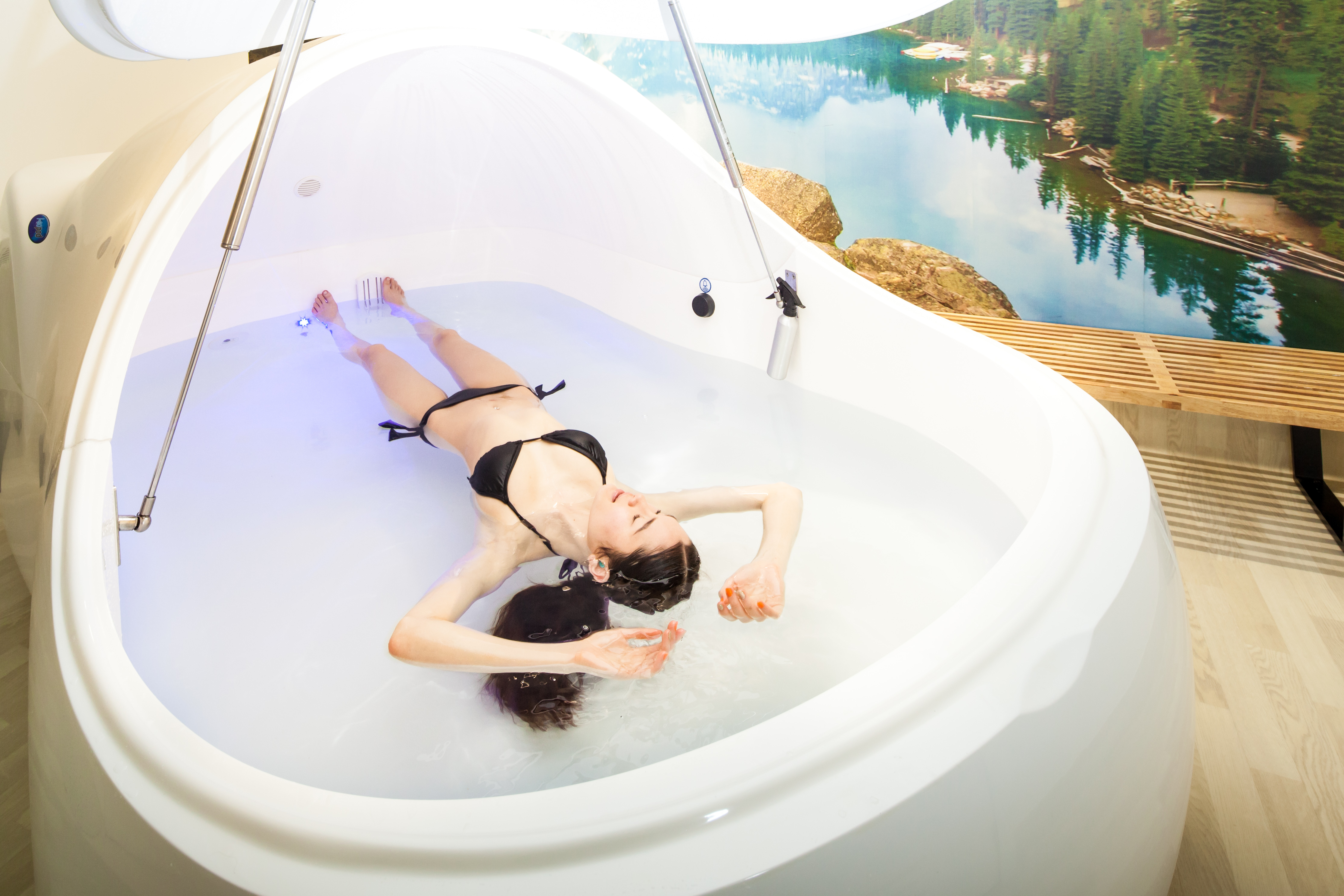 Floating in salt water - the blissful benefits - NZ Herald