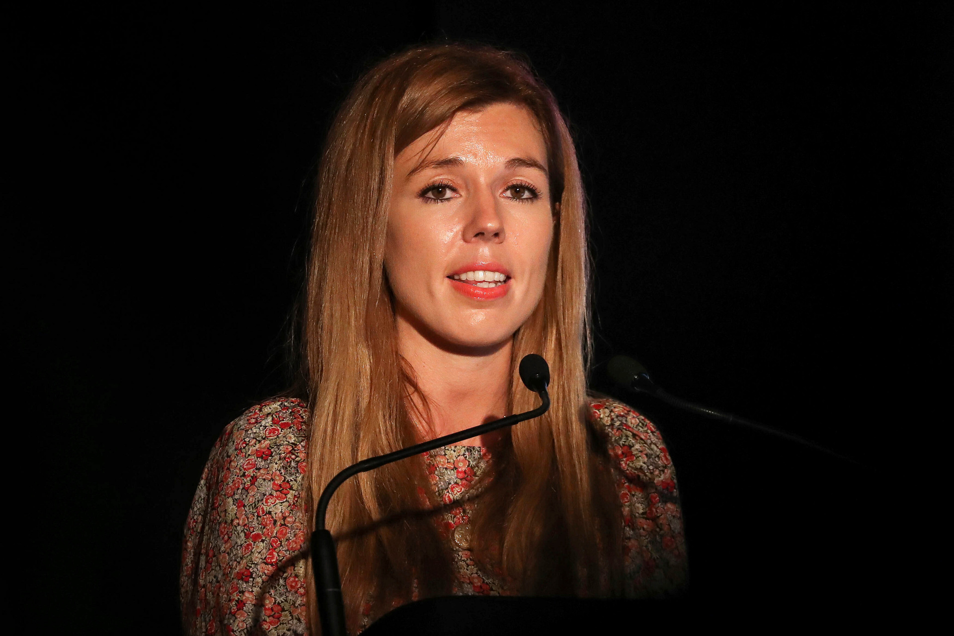 Carrie Symonds, girlfriend of British PM Boris Johnson, has been denied a visa to the US