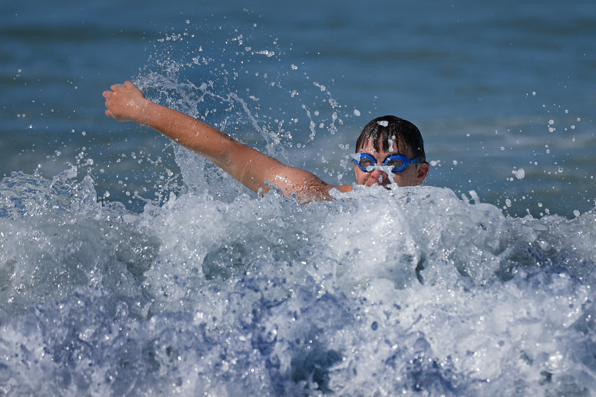 Weather: Fine for most, big surf for beachgoers