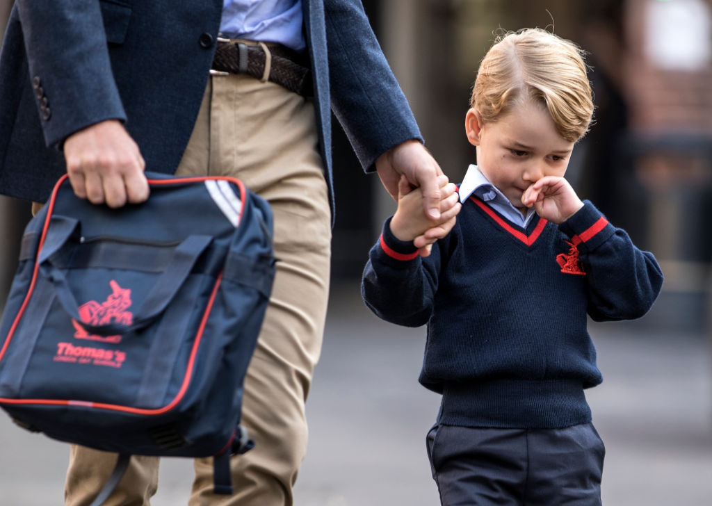 'Chatty' Prince George has a new nickname at school