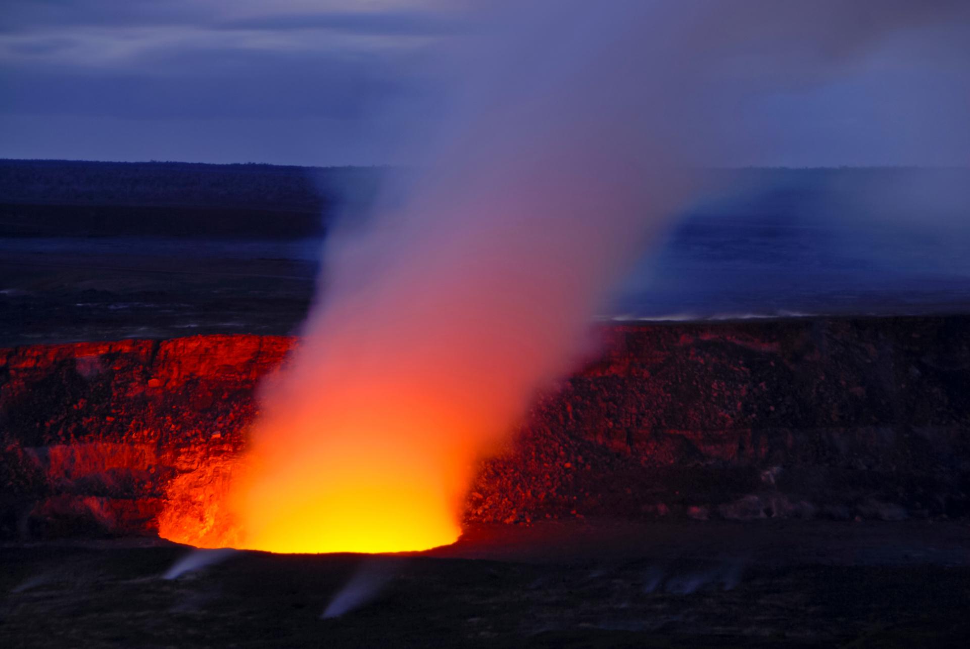 Horror as man falls into fiery Hawaii volcano