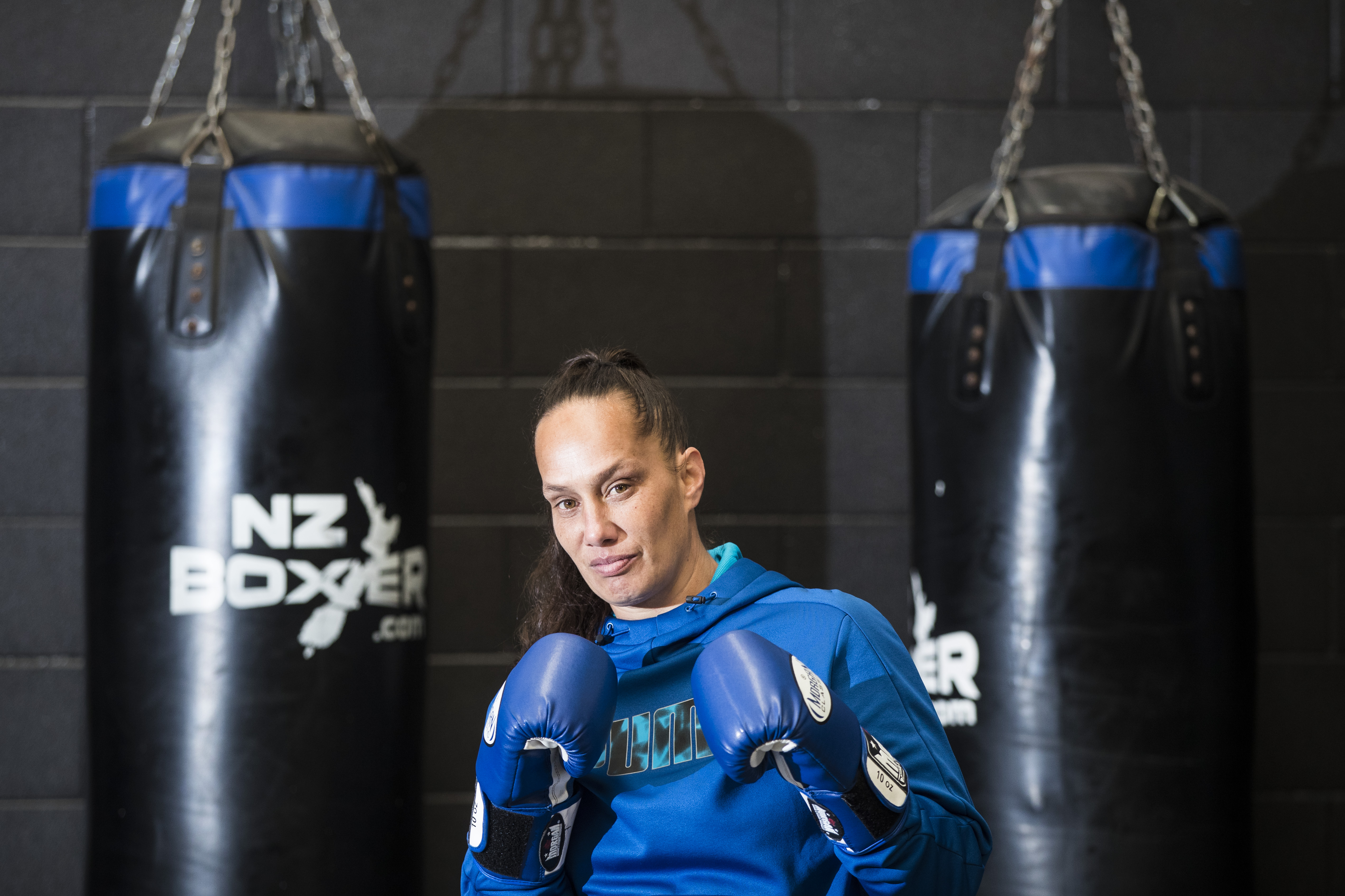 Boxing: Daniella Smith fighting for Women's Refuge - NZ Herald