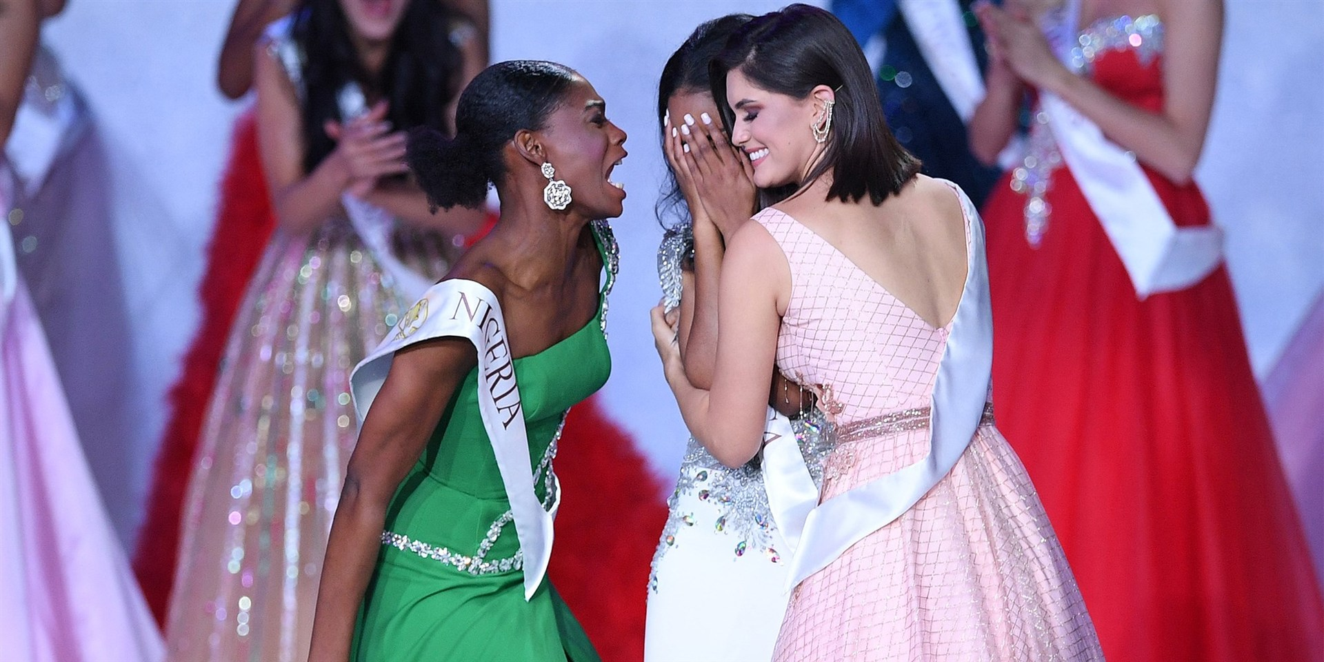 Miss Nigeria's incredible reaction to losing Miss World title