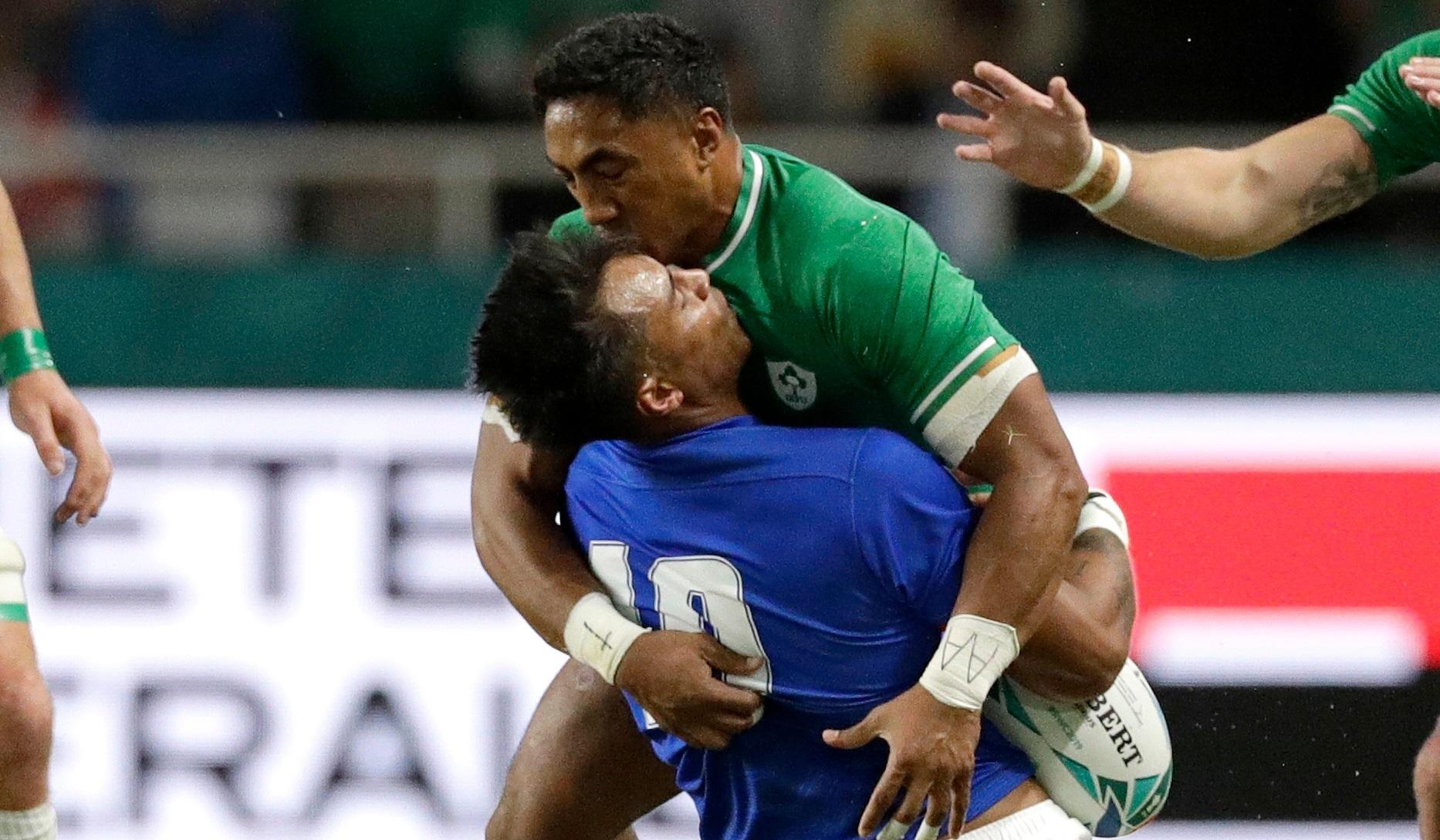 Ireland's desperate bid to keep Bundee Aki's World Cup alive