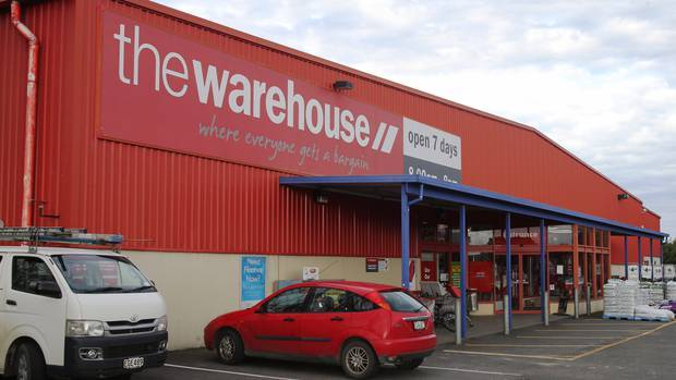 Up to 150 jobs on the line at The Warehouse