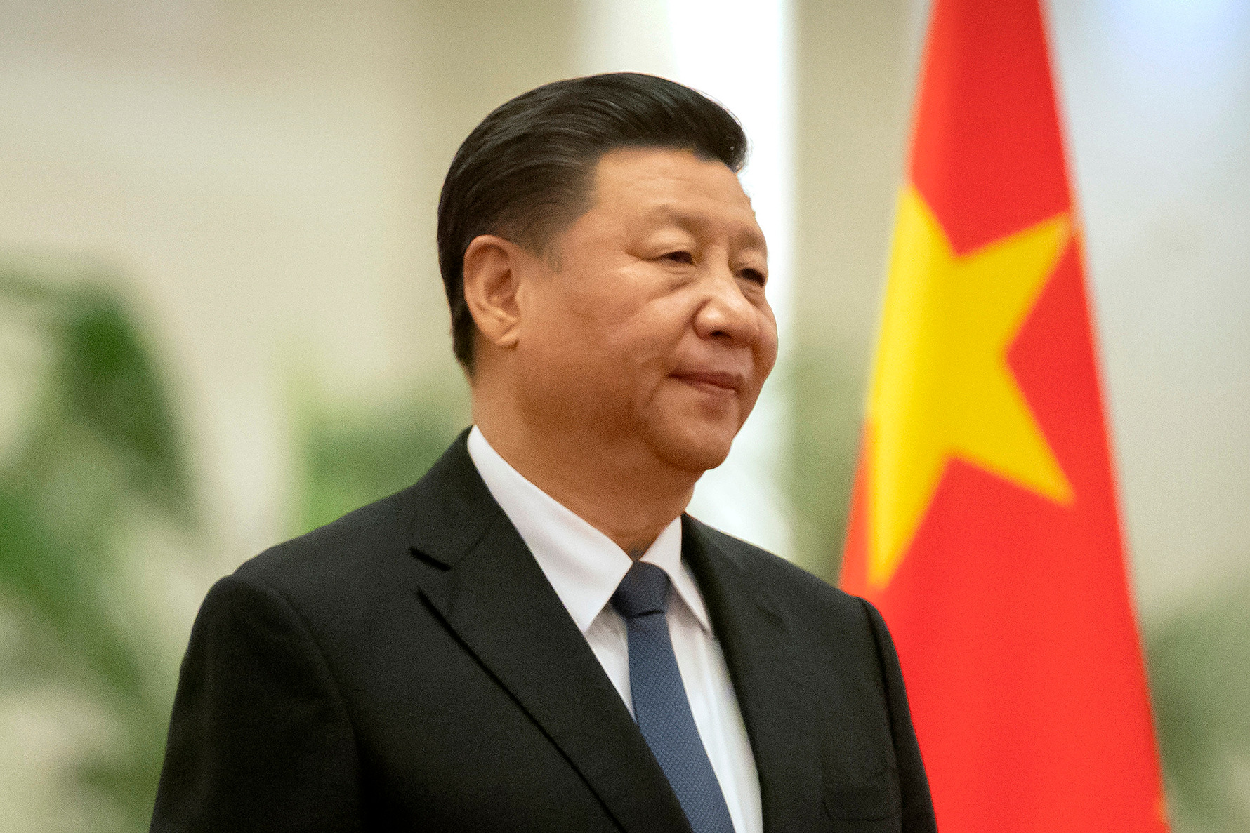 Chinese President's humiliating moment