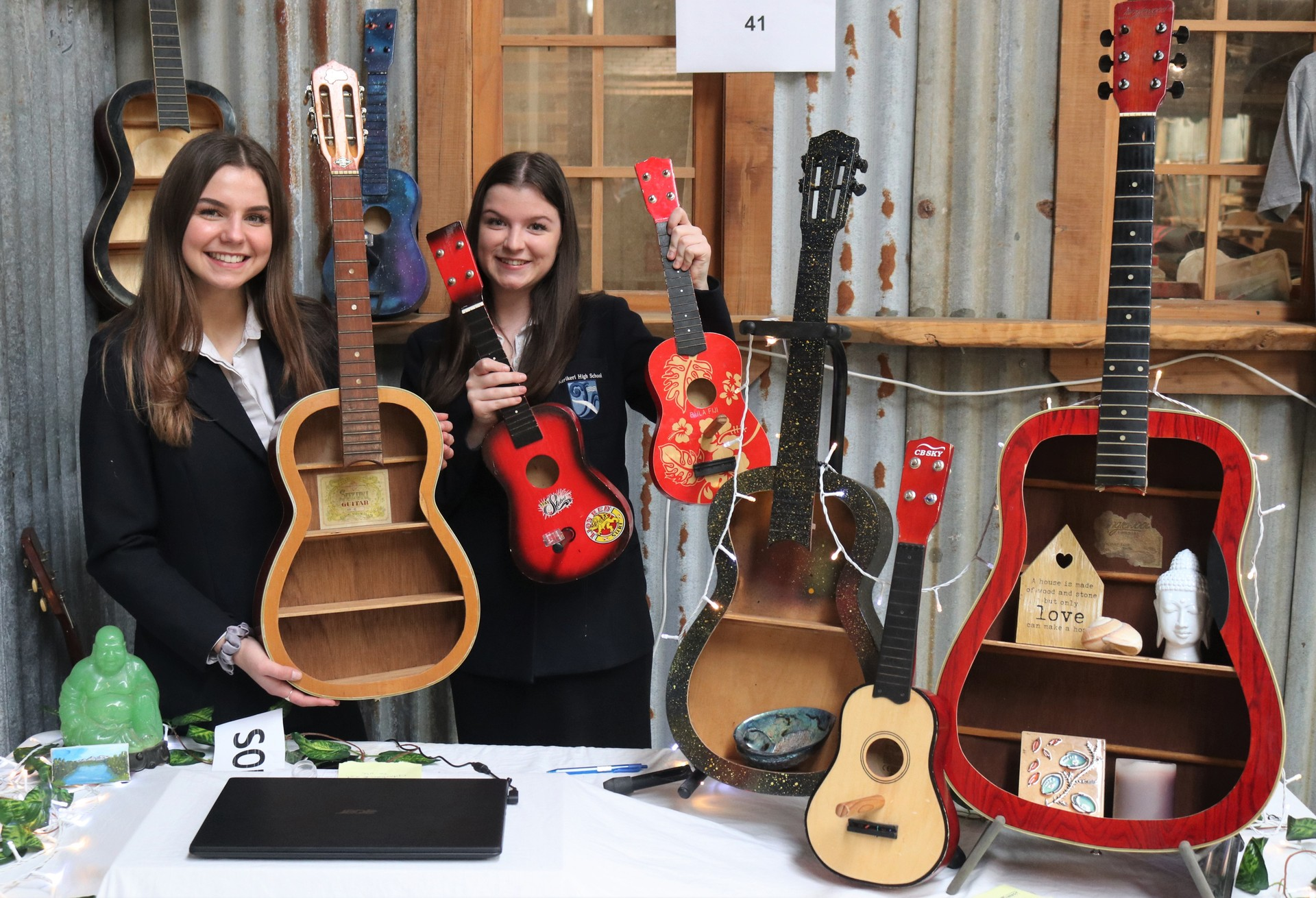 Photos: Student businesses shine in YES Trade Fair