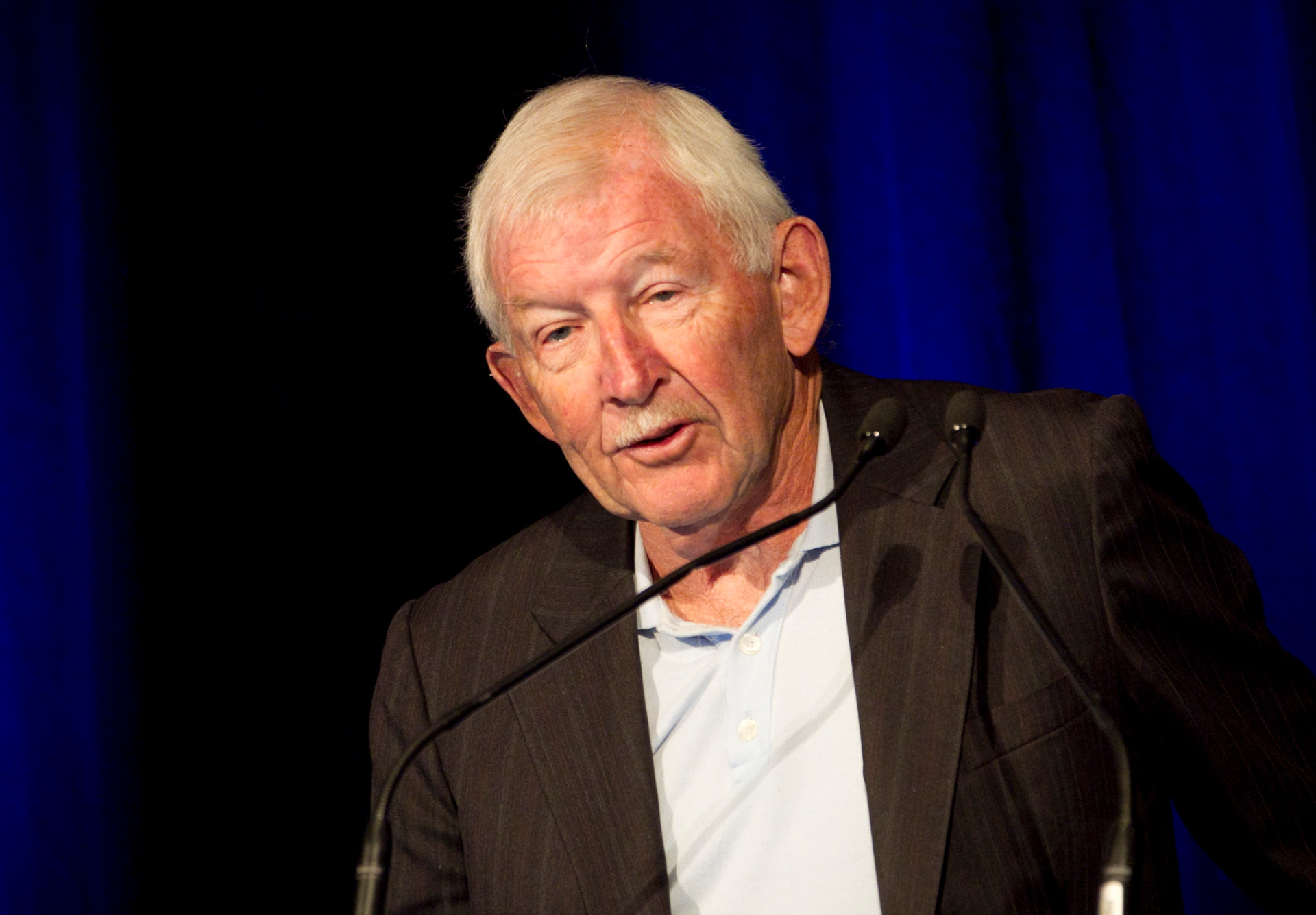 Sir Ron Brierley finally calls it quits at 81