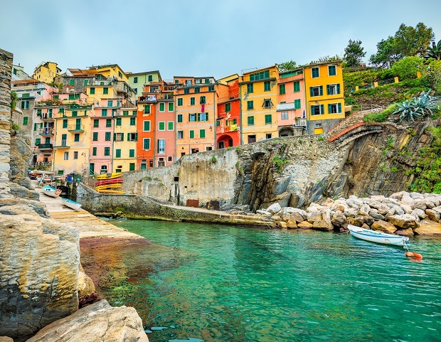 Cinque Terre: Colour me happy